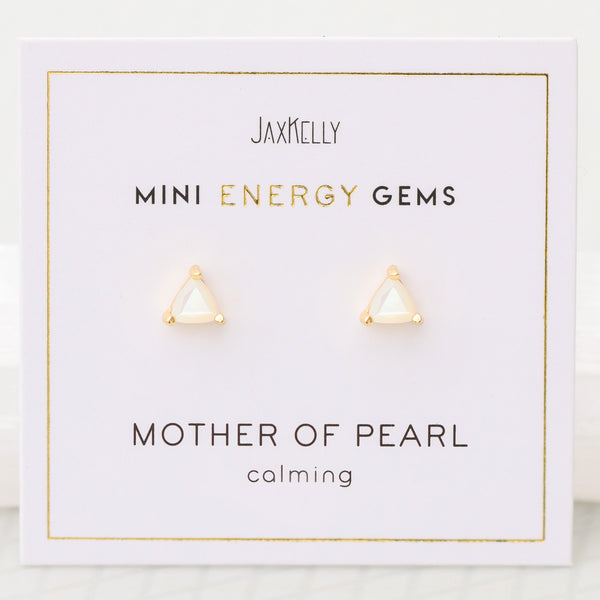 Mother of Pearl Mini Energy Gems