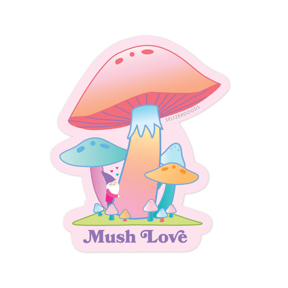Mush Love Sticker