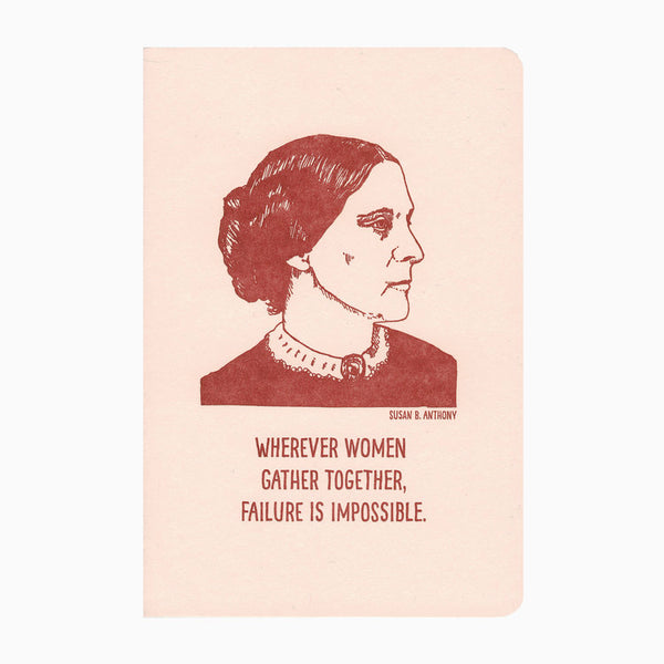 Susan B. Anthony Notebook