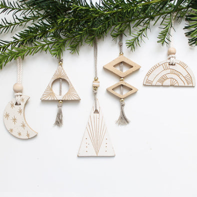 Tall Triangle Ornament
