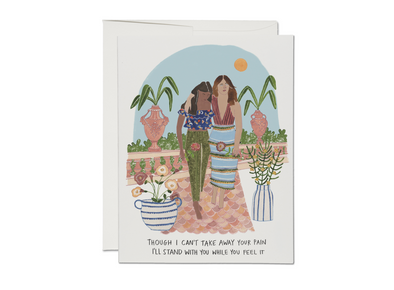 Stand With You Sympathy Card