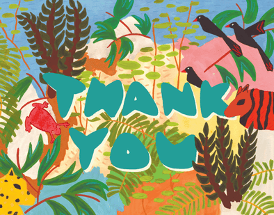 Jungle Thank You Card