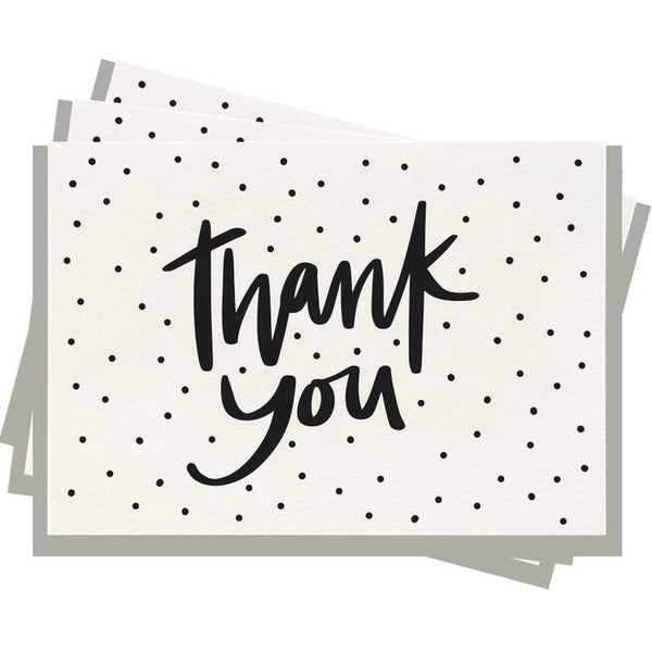 Thank You Dots - Boxed Set of 6 Cards