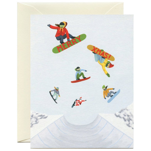 Snowboarders Card