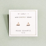 Rose Quartz Mini Energy Gems