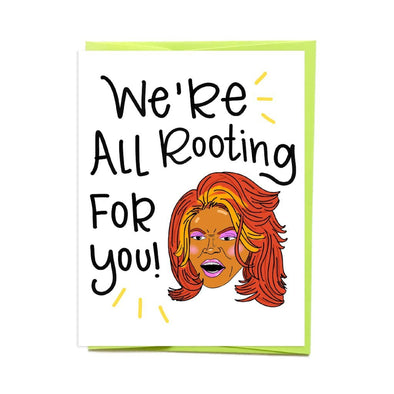 Tyra Rooting For You Card