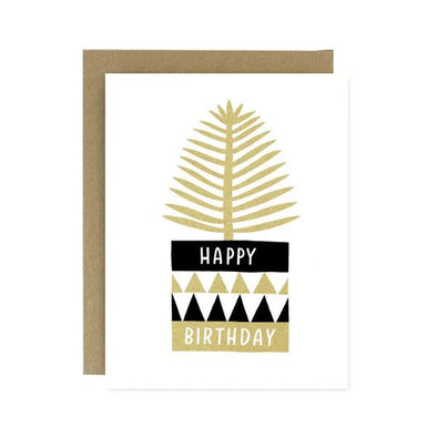 Birthday Potted Plant Card