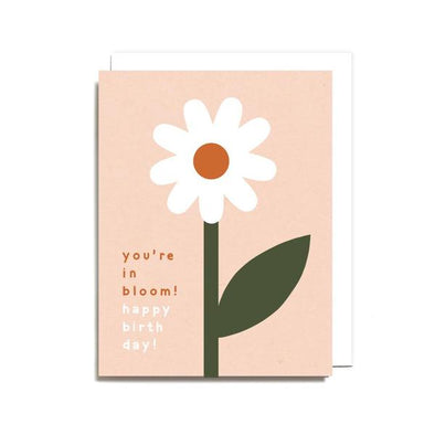 Birthday In Bloom Card