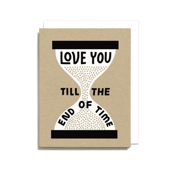 Love You Till The End of Time Card