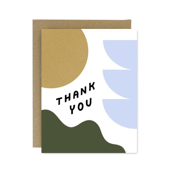 Thank You Shapes & Colors Card