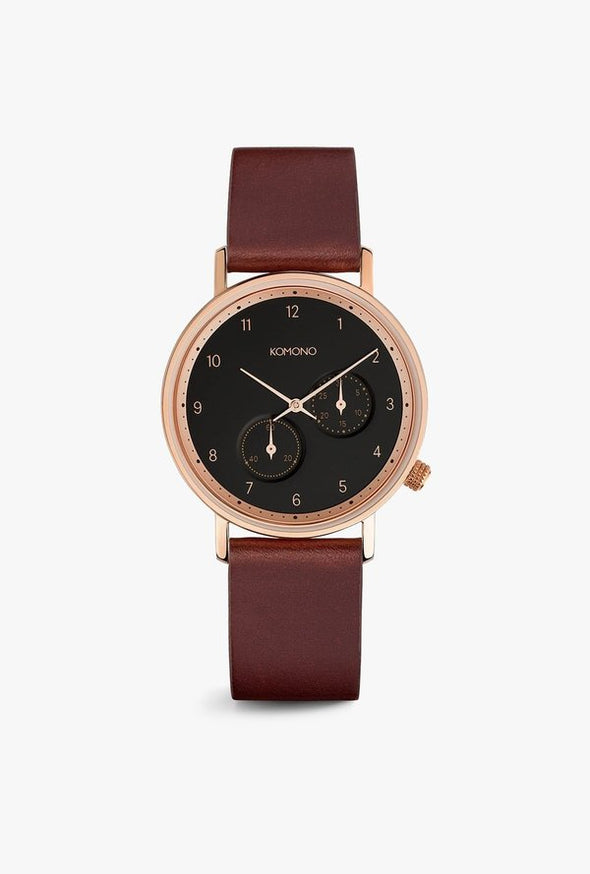 Walther Watch: Burgundy