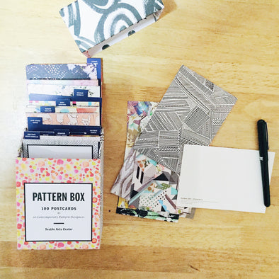 Kindred Post: Pattern Box 100 Postcards