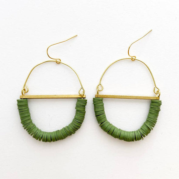Terrain Beaded Earrings