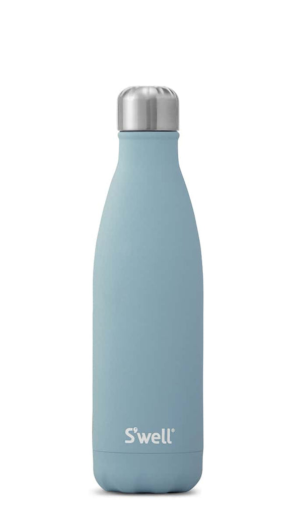 S'well 17oz Stainless Steel Water Bottle - Stone Aquamarine