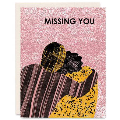 Missing You (Hug) Friendship Card