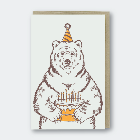 Grizzly Bear Birthday