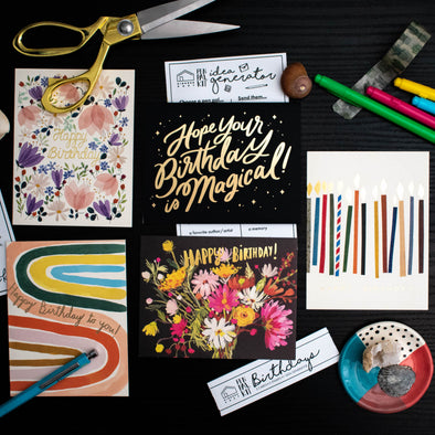 Pen Pal Kit: Birthdays