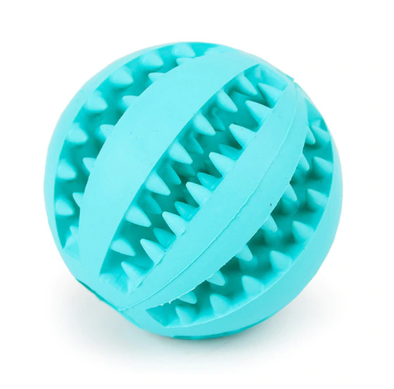 Blue Busy Ball Dog Toy