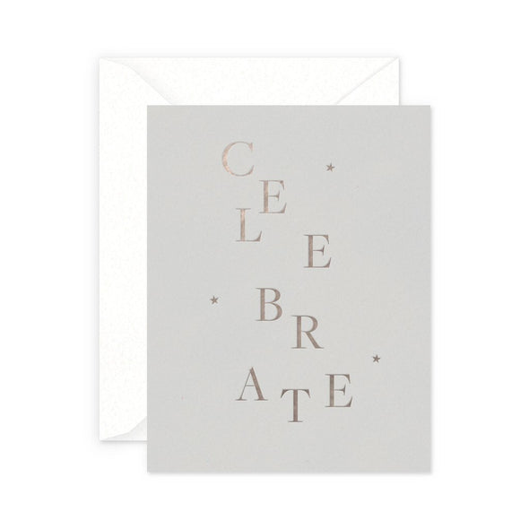 Celebrate Greeting Card
