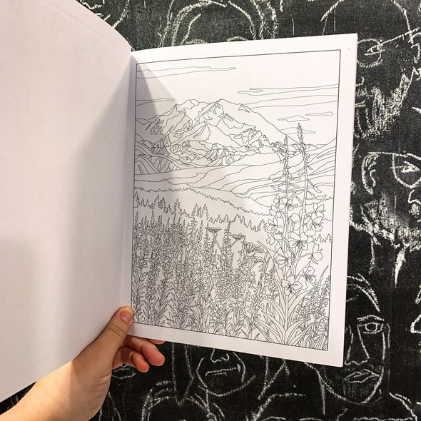 Chill Alaska Coloring Book