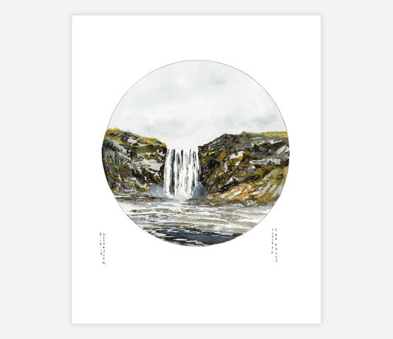 Close To The Falls Print