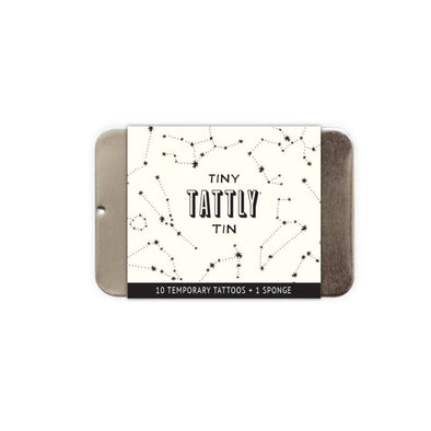 The Tiny Constellation Tin Temporary Tattoo Set