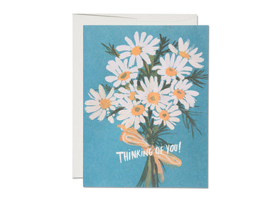 Vintage Daisy Thinking Of You Card