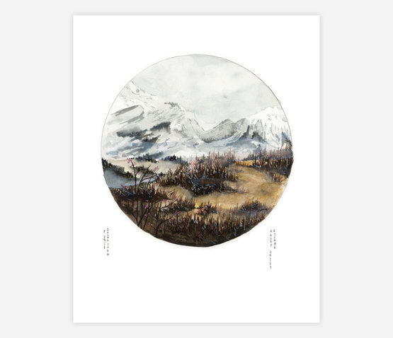 Hazey Valley Escape Print
