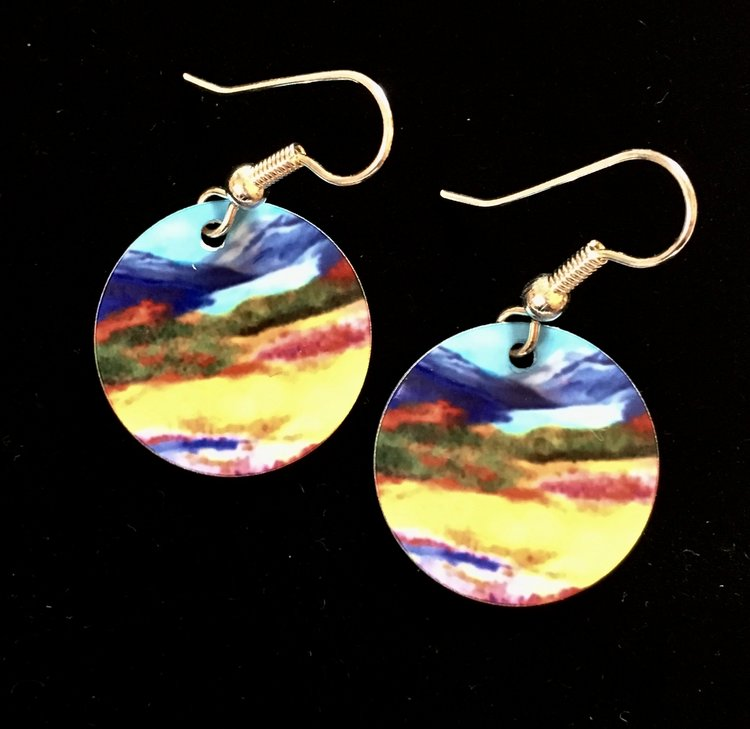 Summer Glacier Earrings