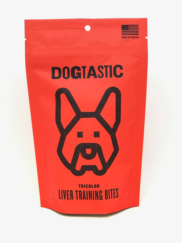 Dogtastic Tricolored Liver Training Bites