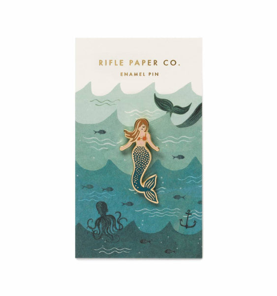 Mermaid Enamel Pin