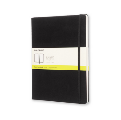 Extra Large Black Moleskine Notebook