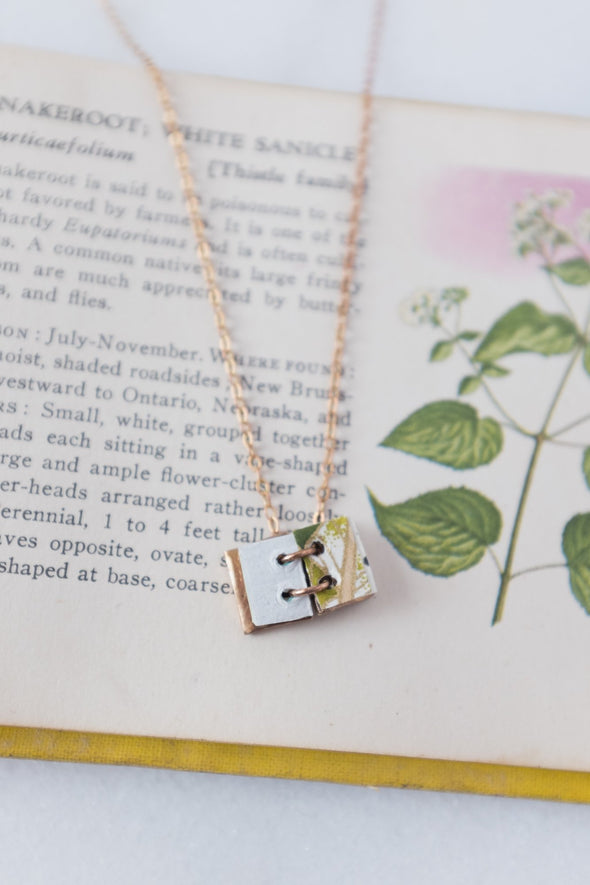 Fairy Book Necklace
