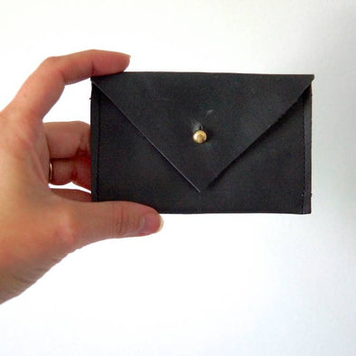 Card Wallet Basics - Leather