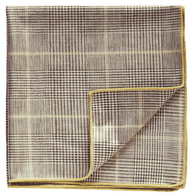 Declan Major Flint Pocket Square