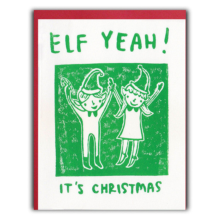 Elf Yeah Holiday Card