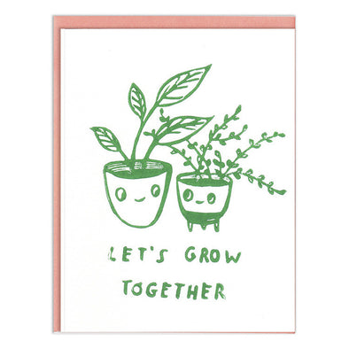 Grow Together Love/Friendship Card