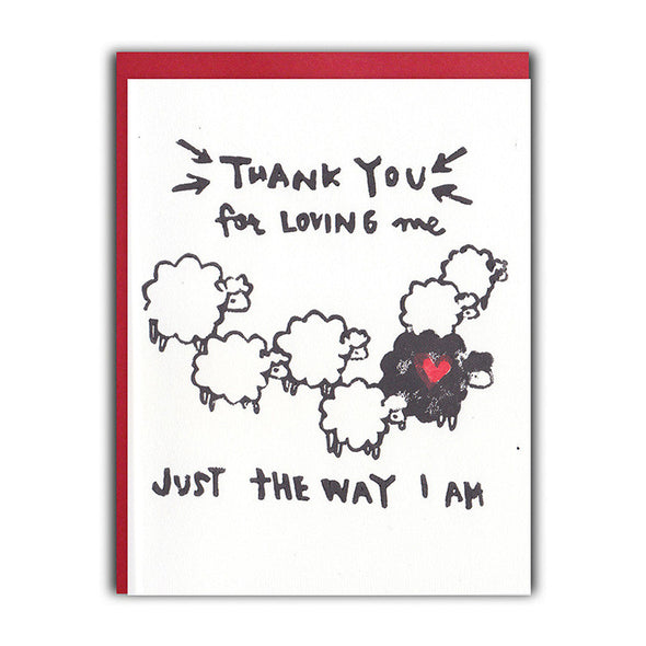 Black Sheep Love Card