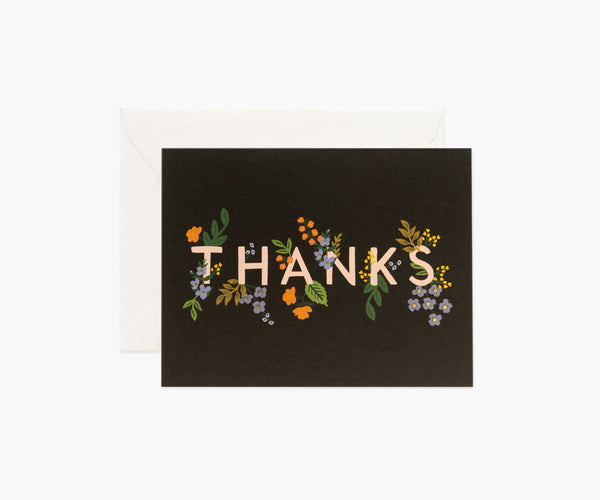 Boxed Set of Posey Thank You Cards