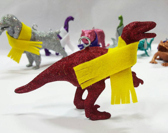 Glitter Animal / Dinosaur Ornaments