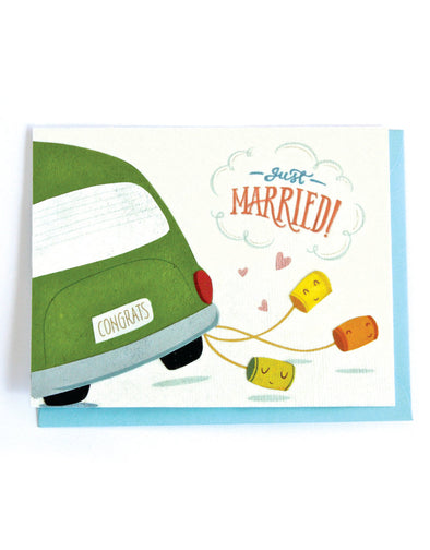 Wedding Cans Card