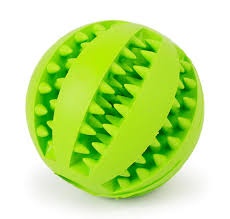 Green Busy Ball Dog Toy