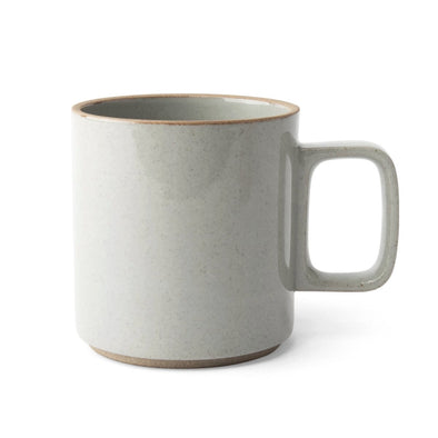 Gray Porcelain Mug