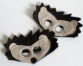 Felt Hedgehog Mask