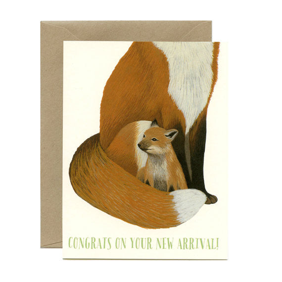 Fox New Arrival Card
