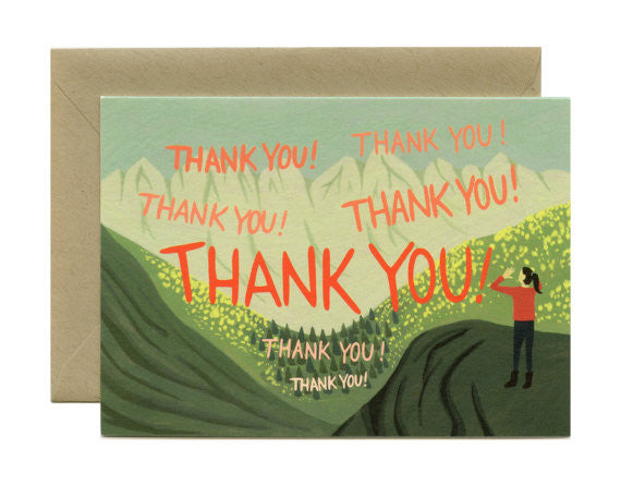 Echo Thank You Card