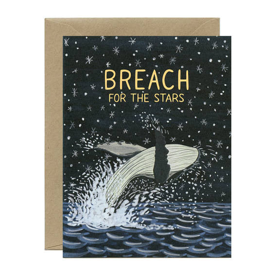 Breach For The Stars Card