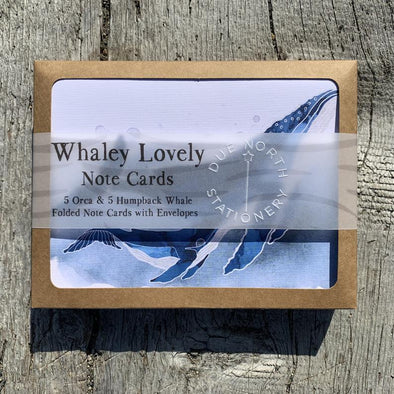 Whaley Lovely note card set
