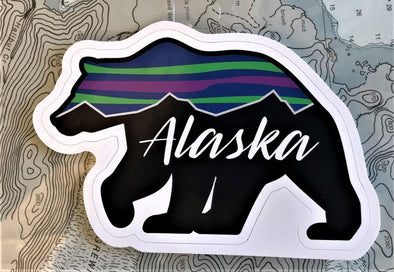 Alaska Bear Stickers