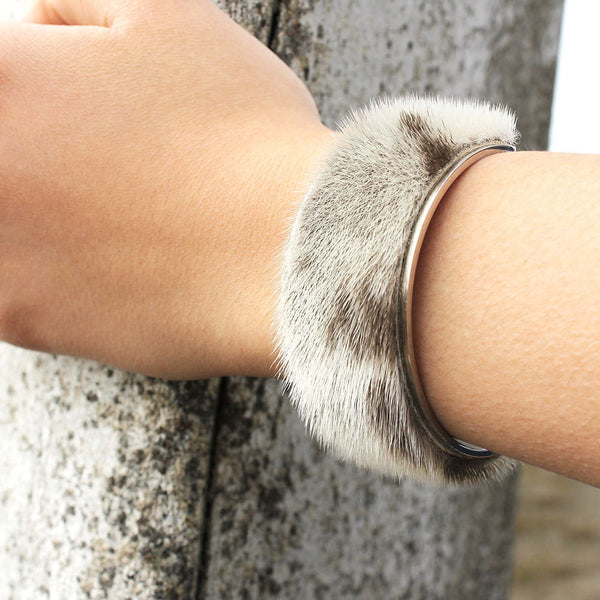 Stainless Steel Sealskin Cuff